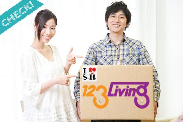 上海引越しセンター「123Living」